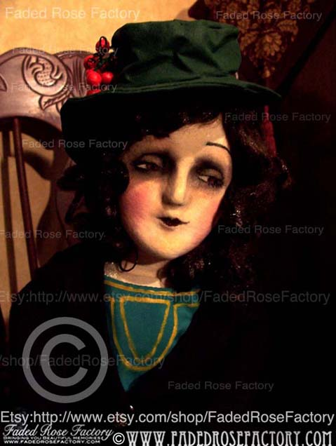 Boudoir Doll Silent Screen Resembles Mabel Normand